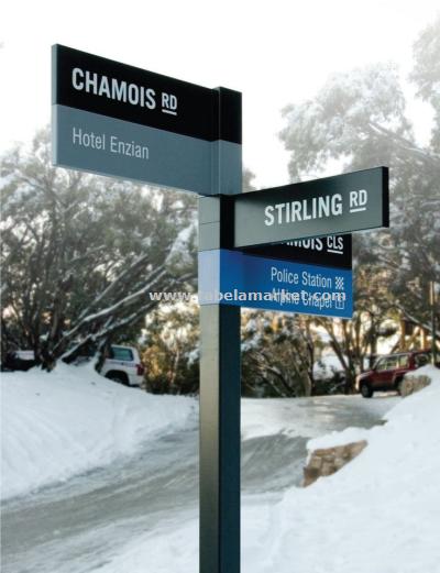 Cadde isimleri  sokak tabelası