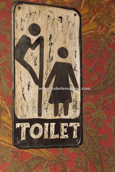 Eskitme Tuvalet tabelaları