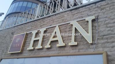 Han kebap steakhouse TABELA çalışmamız