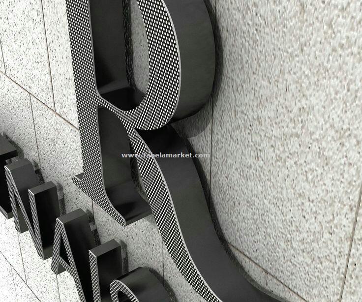 Yeni model Kutu harf örnekleri