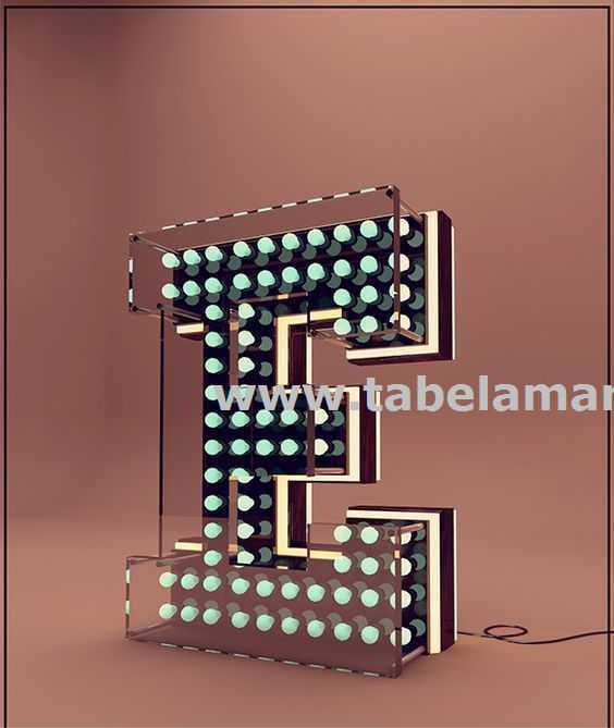 Yeni model led tabelalar