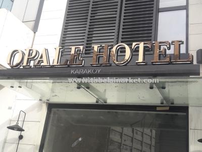Opale Otel Karaköy ışıklı Kutu harf