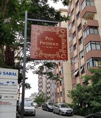 Pita Patiserie Cafe Tabelası Beşiktaş