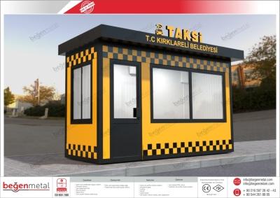 Taksi Durağı Üretimi