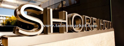 Yeni model kutu harf otel tabelaları